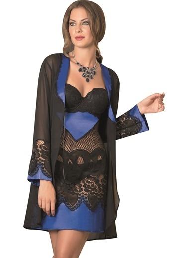 Naymphe Kadın Fantezi Gecelik Siyah